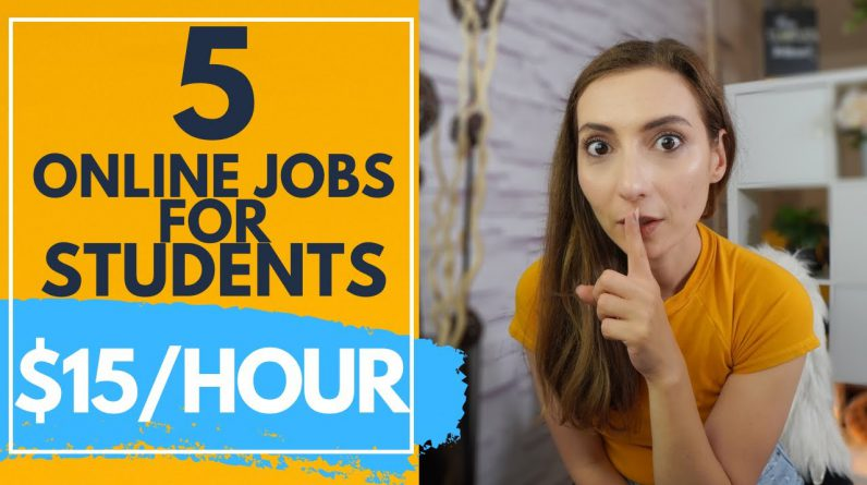 5 Online Jobs For Teens And Students With No Experience That actually pay well