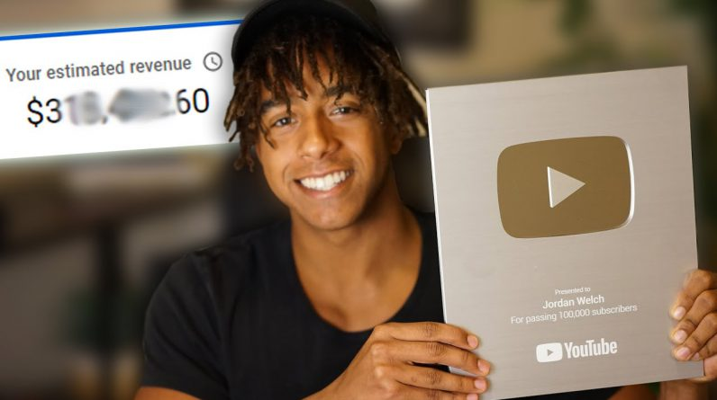 How Much YouTube Pays Me With 100,000 Subscribers